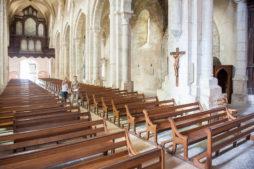 Intérieur Abbatiale Saint Michel