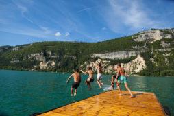 Lac de Nantua Baignade