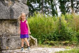 Visite du temple archéologique d'Izernore