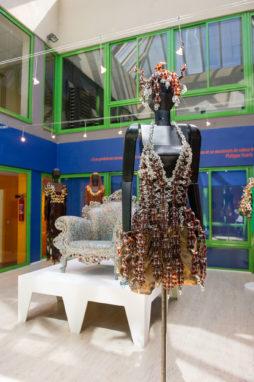 Modèle haute couture Musée du Peigne et de la Plasturgie d'Oyonnax