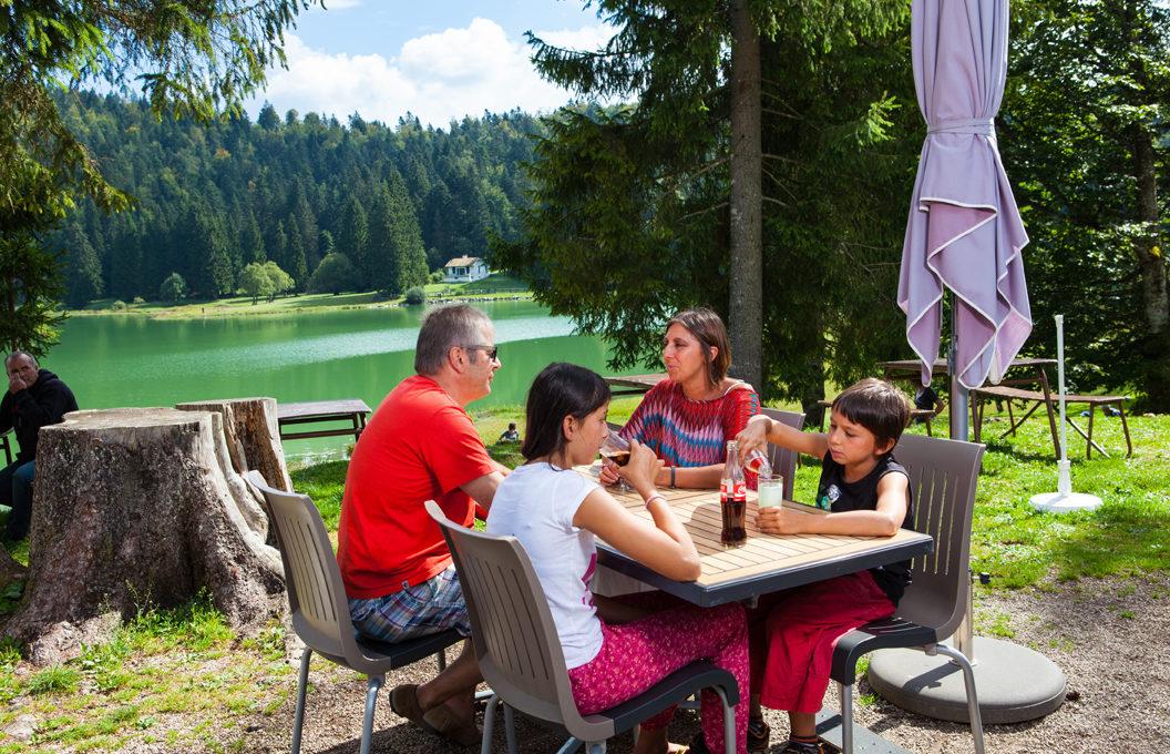 Auberge lac Genin Charix